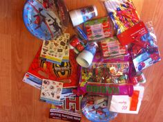 Like a kid in a sweet shop - party bags for three year olds