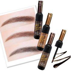 Natural Eyebrow Gel Waterproof Makeup Brown Black Red Wine Peel Off Eye Brow Tattoo Tint Long Lasting Dye Korean Cosmetics Kit