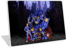 12th Doctor with Dalek Buster Robot Phone Box Laptop Skins #laptop #skins #iPadminicase #accessories #tardis #doctorwho #policecallbox #bluephonebooth #phonebooth #tardis #doctorwho #tardisbadwolf #britishflag #unionjack #10thDoctor #11thDoctor #12thDoctor