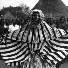 Africa | Dan masquerader. Ivory Coast | ©Michel Renaudeau / Michel Huet