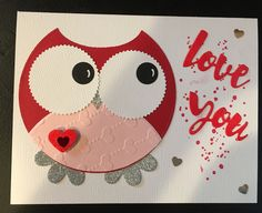 Valentines Day card for Sydney.  2/14/17