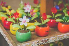 Flower pot decorations
