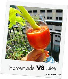 Home made V8 Juice