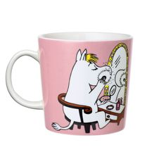 The Snorkmaiden is one of the lovable characters of Moomin Valley, created by the author Tove Jansson. The Arabia artist Tove Slotte-Elevant has desig. Moomin Books, Moomin Mugs, Moomin Shop, Moomin Valley, Tove Jansson, Novelty Mugs, Cute Mugs, Marimekko, Scandinavian Design