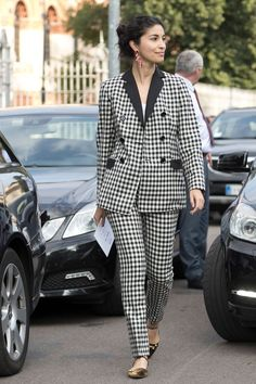The Street Style at Milan Fashion Week May Be the Best Yet Day 3 Caroline Issa