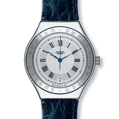 The Mens 'Heracles' Irony Automatic Swatch
