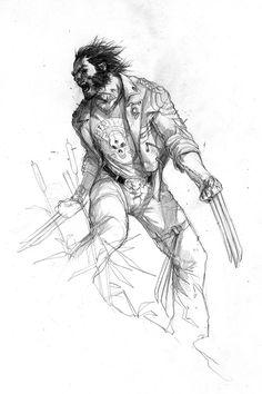 Wolverine by Marko Djurdjevic