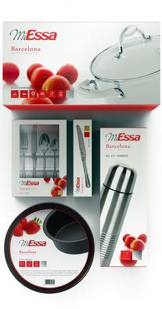 new miessa cookwares packagings