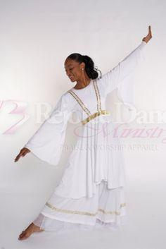 Angellic Praise - Praise & Worship Dance Wear http://www.rejoicedanceministry.org/catalog/angellic-praise-p-223.html#.VIaAgDHF9PN
