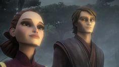 Anakin and Padme Shadow Warrior - clone-wars-anakin-and-padme Photo