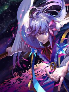 Merlin【Fate/Grand Order】 Me Me Me Anime, Anime Guys, Fate Characters, Fate Servants, Fate Anime Series, Fate Zero, Type Moon, Fate Stay Night, Merlin