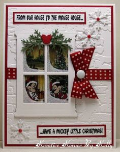 From Our House To The Mouse House by kcs1955 - Cards and Paper Crafts at Splitcoaststampers