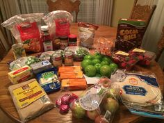 This Week's $74 ALDI Shopping Trip
