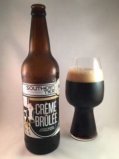 Crème Brûlée is just one of those phrases that wreaks of pretension. I mean, three accented letters… Come on Crème Brûlée… You're better than that! Southern Tier's Crème Brûlée Stout brings this phrase back down to earth by offering up an image of the humble cow on the bottle. Few animals are as giving as the noble cow. Milk, cheese, beef, cheese and beef (hello cheeseburger), leather… There's nothing this beast can't do. Thinking about it a little more, it is kind of messed up that we use…