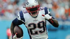 Six former diamonds in the rough starring in Super Bowl LI:  February 4, 2017  -    Jan 1, 2017; Miami Gardens, FL, USA; New England Patriots running back LeGarrette Blount (29) runs the ball during the second quarter of an NFL football game against the Miami Dolphins at Hard Rock Stadium.