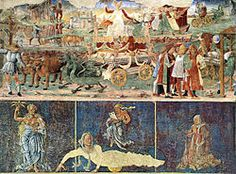 Cosmé Tura e Maestro di Ercole - Agosto è uno degli affreschi (500×320 cm circa) del Salone dei Mesi di Palazzo Schifanoia a Ferrara. È databile al 1468-1470 circa ed è attribuito a Cosmè Tura e al Maestro di Ercole.