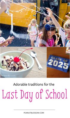 Awesome and easy ideas to celebrate the last day of school. This is such a classic childhood memory, make it a great one!