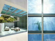 This see-through pool from a home in Marbella, Spain