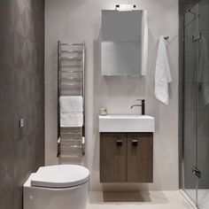 Choose small fittings | Small bathrooms | 10 decorating ideas | Homes & Gardens | Housetohome.co.uk