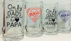 Fathers Day Beer Mugs