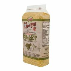 Bob's Red Mill Millet Hld Whole Bulk (1x25LB )