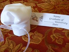 Chef Hat Graduation Party Favor by RufflesCraft on Etsy, $5.50