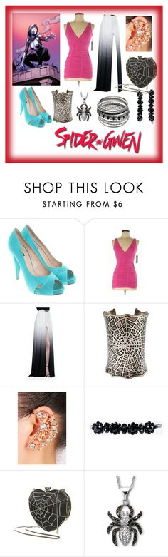 """""""spider gwen formal outfit1"""" by shandrial ❤ liked on Polyvore featuring Bally, Last Tango, Elie Saab and Simone Rocha"""