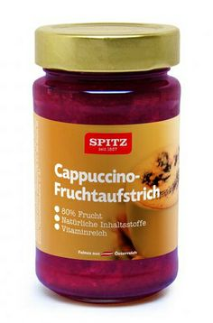Cappuccino Fruit Sauce by Spitz