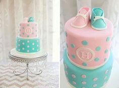 Trendy Baby Shower Cake For Twins Gender Reveal Pink Gender Party, Baby Gender Reveal Party, Baby Party, Baby Shower Parties, Simple Gender Reveal, Baby Reveal Cakes, Cupcakes Decorados, Fiesta Baby Shower, Reveal Parties