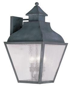 Livex Lighting 2454-61 Vernon Wall Light Charcoal