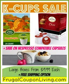 Cross Country Café $.42 K-Cups and FREE Recipe Book with Coupon +  HOT Giveaway