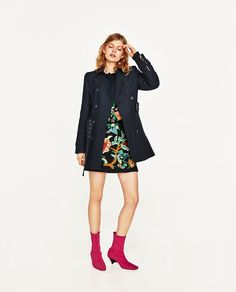 ZARA - WOMAN - DOUBLE BREASTED TRENCH COAT