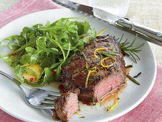 Pan-Fried Beef Tenderloin