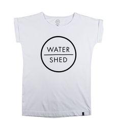 WATERSHED LADIES LOGO T-SHIRT WHITE