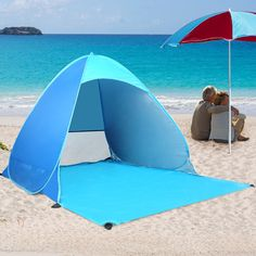 Ylovetoys Automatic Instant Pop Up Instant Portable Outdoors Cabana Beach Tent Shelter *** You can find out more details at the link of the image.