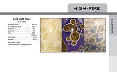 Ten tried high temperature glaze recipes. creber_glaze_recipe