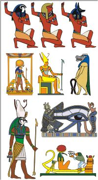 Ancient Egyptian Gods And Goddesses Pictures