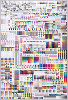 Alex Keating posted Specimen by Fanette Mellier, CMYK vs RGB. Design Mellier to his -graphic designs- postboard via the Juxtapost bookmarklet. Interaktives Design, Print Design, Graphic Design, Cover Design, Interior Design, Design Graphique, Art Graphique, Exhibition Poster, Glitch Art