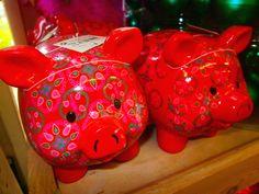 Colourful Piggy Banks
