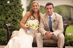 1st photos as Husband & Wife Front Porch of Forest Creek Golf Club