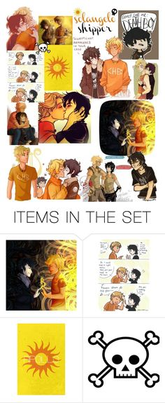 """Solangelo ♡"" by hope-of-hermes ❤ liked on Polyvore featuring art and solangelo"