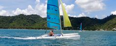 Sail arround the islands in Philippines. Beginers, experienced-sailor, a must-to-do to discover the bay on your own pace, or just learn something new during your holidays. Boat Rental, Palawan, Philippines, Sailor, Island, Navy Sailor, Block Island, Islands
