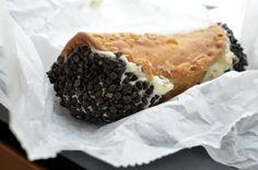 The best mo-fo cannoli's from Mike's in Boston. #Boston #cannoli #cannolis