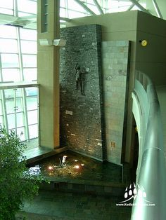 Thunderstone Quarries Black Rundle Natural Stone from Kodiak Mountain Stone. www.KodiakMountain.com Natural Stones, Bathroom Lighting, Bathtub, Mountain, Mirror, Black, Home Decor, Standing Bath, Homemade Home Decor