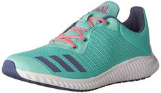 huge discount 9c4c2 f77bf adidas Performance Boys  Fortarun K Running Shoe,  Black Metallic Silver Energy, 10.5 M US Little Kid