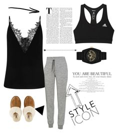 """Untitled #213"" by rekac on Polyvore featuring adidas, Icebreaker, UGG and adidas Originals"