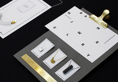 AMM Jewelry / rebranding concept / graphic design by Jeremiah Hagler