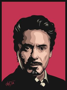 Robert Downey Jr. portret illustration