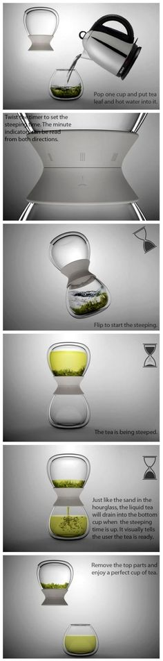 Teapot + Timer = Leisure Time