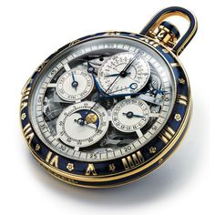 Jaeger LeCoultre Hunter Pocket Watch.